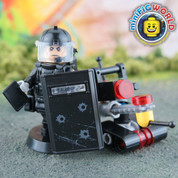 SWAT Bomb Disposal Robot Controller LEGO compatible Minifigure