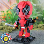 Deadpool Nano Blocks Build-able Figure