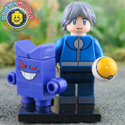 Gengar and Trainer LEGO compatible Pokemon GO Minifigure