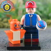 Charmander and Trainer LEGO compatible Pokemon GO Minifigure