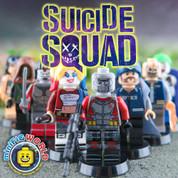 DC Suicide Squad LEGO compatible 8 Minifigure set