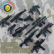 MODCOM LEGO minifigure compatible Weapons Pack