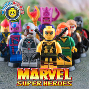Marvel SuperHeroes LEGO compatible 8 Minifigure set