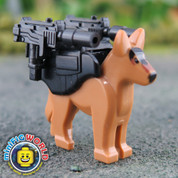 K9 Attack Unit LEGO compatible Minifigure