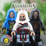 Assassin's Creed  LEGO compatible 3 Minifigure Set