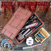 Dayz Zombie LEGO compatible Weapons Crate