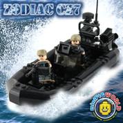 Zodiac CZ7 LEGO compatible 2 Minifigure Raft kit