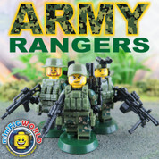 Army Rangers LEGO compatible 3 Minifigure set