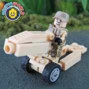M1A1 75mm Howitzer LEGO compatible Minifigure Set