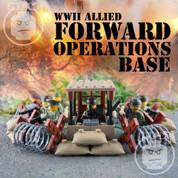 WW2 Allied Forward Operations Base LEGO compatible Minifigures Set