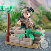 DeltaForce Elite LEGO compatible Minifigure Soldier