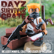 DayZ Survivor Crate LEGO compatible Minifigure Pack