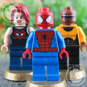 LEGO Marvel Super Heroes Spiderman 3 Minifigure Set