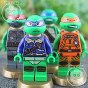 LEGO Teenage Mutant Ninja Turtles 4 Minifigure Set 3