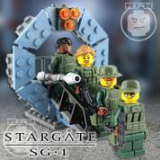 Stargate SG-1 LEGO 4 Minifigure Set