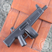 AA12 Matt Finish LEGO minifigure compatible Automatic Shotgun