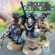 Special Forces LEGO compatible 3 Minifigure set