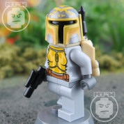 Gold Faction Mandalorian LEGO Star Wars Minifigure