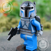 Blue Faction Mandalorian LEGO Star Wars Minifigure