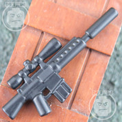 M110 Matt Finish LEGO minifigure compatible Assault Rifle