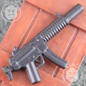 MP5SD6 Matt Finish LEGO minifigure compatible Weapon