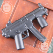 MP5KS Matt Finish LEGO minifigure compatible Weapon
