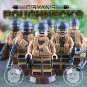 O'Ryan's Roughnecks LEGO compatible 6 Minifigure set