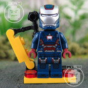 LEGO Marvel Super Heroes Iron Patriot RARE Minifigure