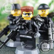 Strike Team Alpha LEGO compatible 3 Minifigure set