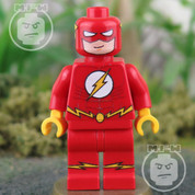 LEGO compatible DC Flash Minifigure