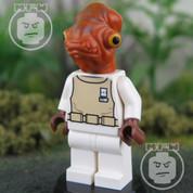 LEGO Star Wars Admiral Ackbar Minifigure