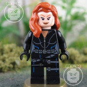 LEGO Marvel Super Heroes Black Widow Minifigure