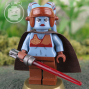 Blue Twelk Jedi LEGO Star Wars compatible Minifigure
