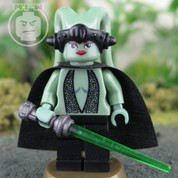 Green Twelk Jedi LEGO Star Wars compatible Minifigure