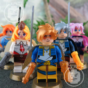 Team Anime LEGO compatible 5 Minifigure set