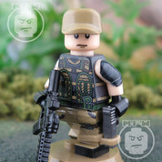 BLACKOPS Elite LEGO compatible Minifigure Soldier