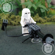 LEGO Star Wars Imperial Heavy Blaster Snow Trooper Minifigure