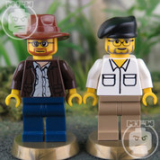 Mythbusters LEGO compatible 2 Minifigure set
