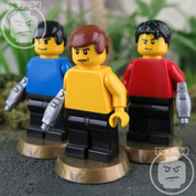 Star Trek LEGO compatible 3 Minifigure set