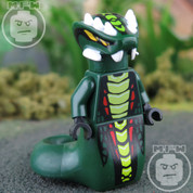 LEGO Ninjago Acidicus VERY RARE Minifigure