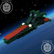 LEGO Star Wars Custom Midi-Scale Venator Starship BLACK