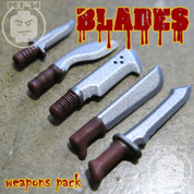 BLADES LEGO compatible Weapons Pack