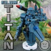 ELON TITAN LEGO compatible MECH DROID