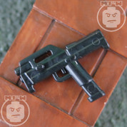 Magpul FMG9 LEGO minifigure compatible Fold-able SMG