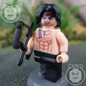 Rambo LEGO compatible Minifigure