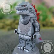 Godzilla LEGO compatible Minifigure