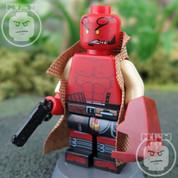 Hellboy LEGO compatible Minifigure