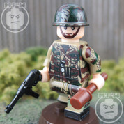 WW2 German Paratrooper LEGO compatible Minifigure