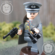 WW2 German Captain LEGO compatible Minifigure