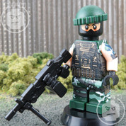 Commando Elite LEGO compatible Minifigure Soldier